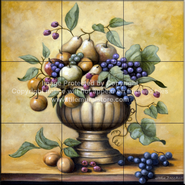 Fruit Bowl   Tile Mural