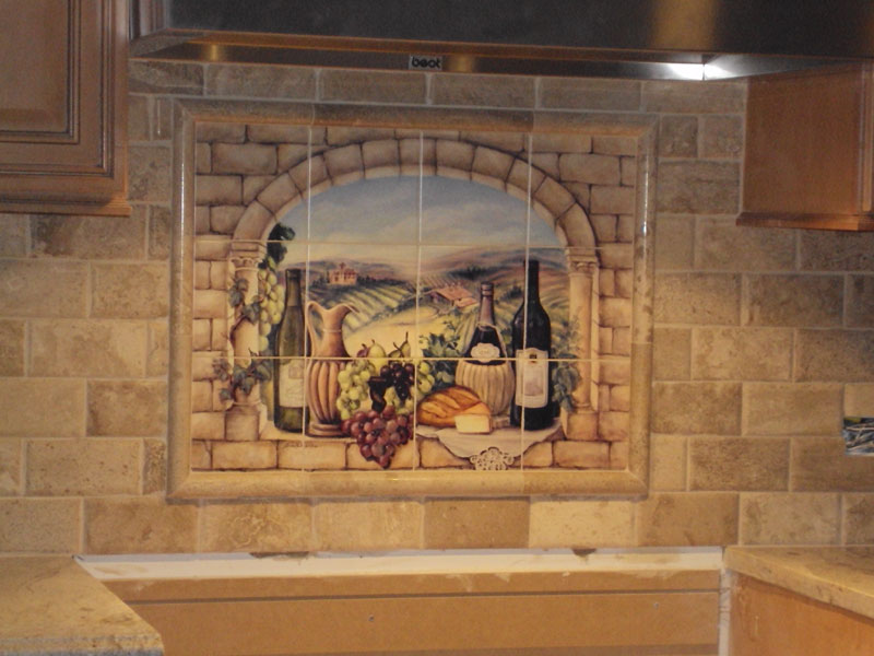 Decorative Tile Backsplash Kitchen Tile Ideas Tuscan