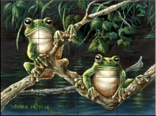 Frogs    - Tile Mural