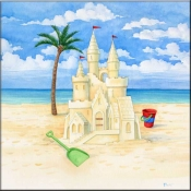 PB-Sandcastle Beach 2 - Accent Tile