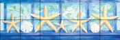 Starfish Transom Border    - Tile Mural