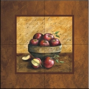 Apples 1  - Tile Mural