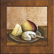 Cheese   - Tile Mural
