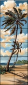 Palm Breeze 1    - Tile Mural