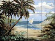 Palm Bay    - Tile Mural