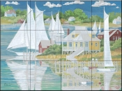 Captains Home    - Tile Mural