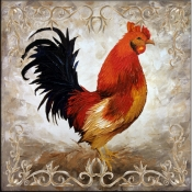 Rooster II - Accent Tile