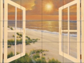 DR-Window Of Dreams    - Tile Mural