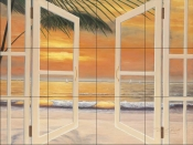 DR-Doorway To Paradise    - Tile Mural