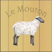 LS-Le Mouton (Sheep) - Accent Tile