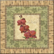 CA-Bright Orchids I - Accent Tile