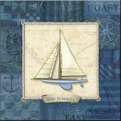 CA-Nautique Sailing IV - Accent Tile