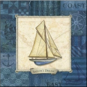 CA-Nautique Sailing III - Accent Tile