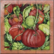 Tomatoes 2  - Tile Mural