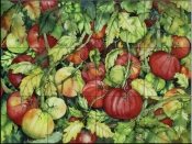 Tomatoes 3  - Tile Mural