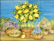 Lemon Tree   - Tile Mural