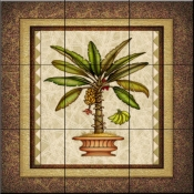 Palm Tree 2   - Tile Mural
