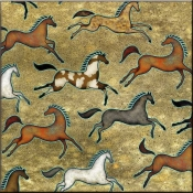 DM-Southwest Horse 5 - Accent Tile