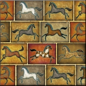 DM-Southwest Horse 8 - Accent Tile