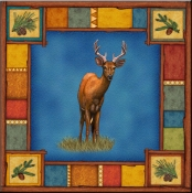 DM-Wilderness Deer - Accent Tile