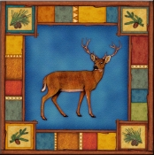 DM-Wilderness Elk - Accent Tile