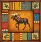 DM-Wilderness Moose - Accent Tile