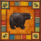 Wilderness Bear   - Tile Mural