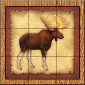 Lodge Moose 1   - Tile Mural