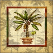 Banana Palm 3   - Tile Mural