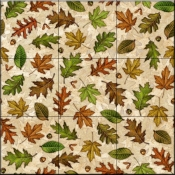 Fall Leaves   - Tile Mural