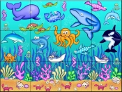 Under The Sea  2  - Tile Mural