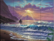 Morning Majesty  - Tile Mural