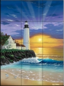 The Lighthouse  - Tile Mural