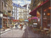 Paris Café  - Tile Mural