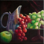 Fruit of the Vine  1  - Tile Mural