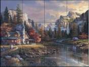 JL - Home at Last  - Tile Mural