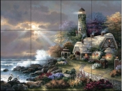 JL - Heaven's Light  - Tile Mural