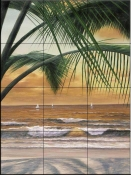 DR - Paradiso Sunset  - Tile Mural