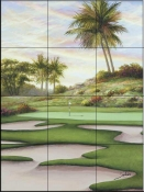 SB - #8 Bunkers at Emerald  - Tile Mural