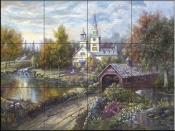 CV-Maple Creek  - Tile Mural