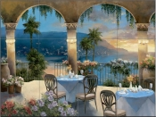 TC - Amalfi Holiday I  - Tile Mural
