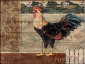 PB - Good Morning Rooster  - Tile Mural