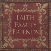 JM- Faith Family Friends - Accent Tile