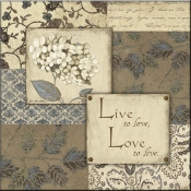 JM- Live to Love - Accent Tile