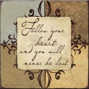 JM- Follow Your Heart - Accent Tile