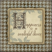 JM- Happiness - Accent Tile