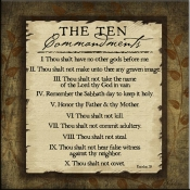 JP- Ten Commandments - Accent Tile