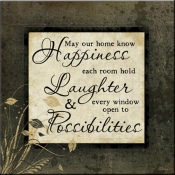 JP- Know Happiness - Accent Tile