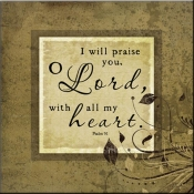JP- I Will Praise - Accent Tile