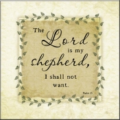 JP- The Lord Is My Sheperd - Accent Tile